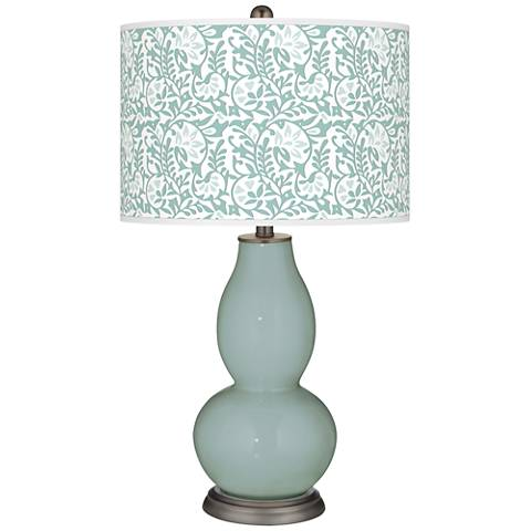 Aqua-Sphere Gardenia Double Gourd Table Lamp
