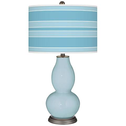 Vast Sky Bold Stripe Double Gourd Table Lamp