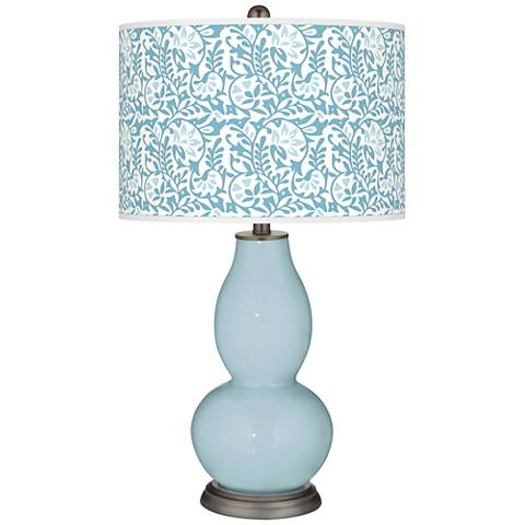 Vast Sky Gardenia Double Gourd Table Lamp