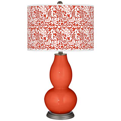 Daredevil Gardenia Double Gourd Table Lamp