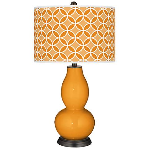 Carnival Circle Rings Double Gourd Table Lamp