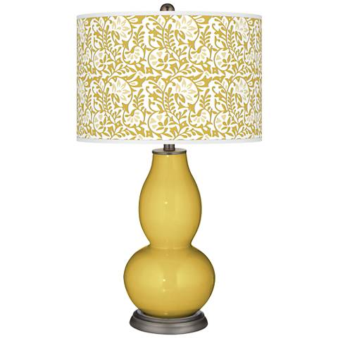 Nugget Gardenia Double Gourd Table Lamp