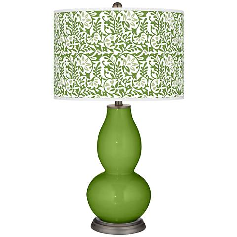 Gecko Gardenia Double Gourd Table Lamp