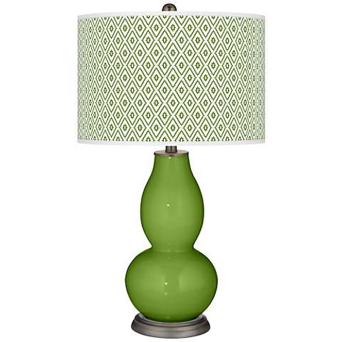 Gecko Diamonds Double Gourd Table Lamp