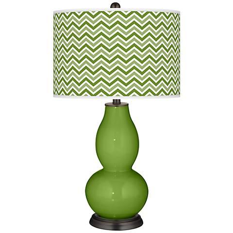Gecko Narrow Zig Zag Double Gourd Table Lamp
