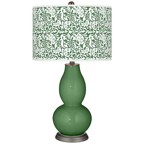 Garden Grove Gardenia Double Gourd Table Lamp
