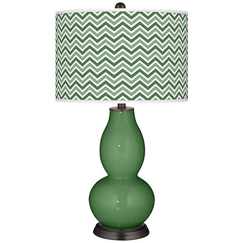 Garden Grove Narrow Zig Zag Double Gourd Table Lamp