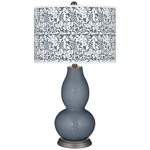 Granite Peak Gardenia Double Gourd Table Lamp