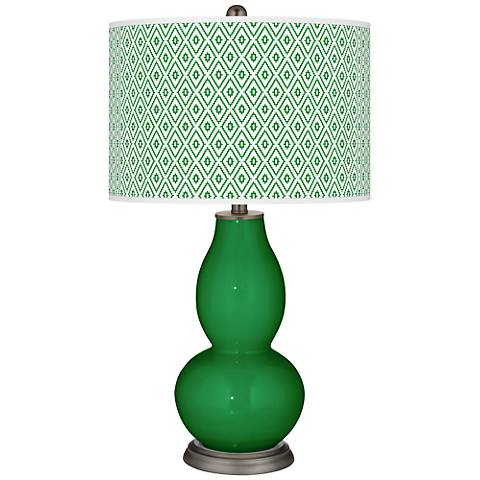 Envy Diamonds Double Gourd Table Lamp