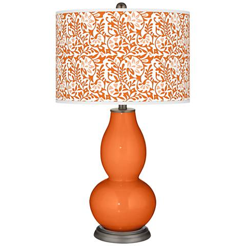 Invigorate Gardenia Double Gourd Table Lamp